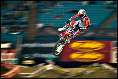 Making great money with the excitement in supercross
